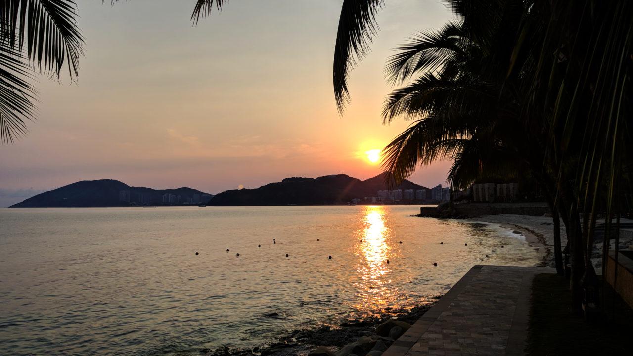 Coral Bay Sunset Sanya