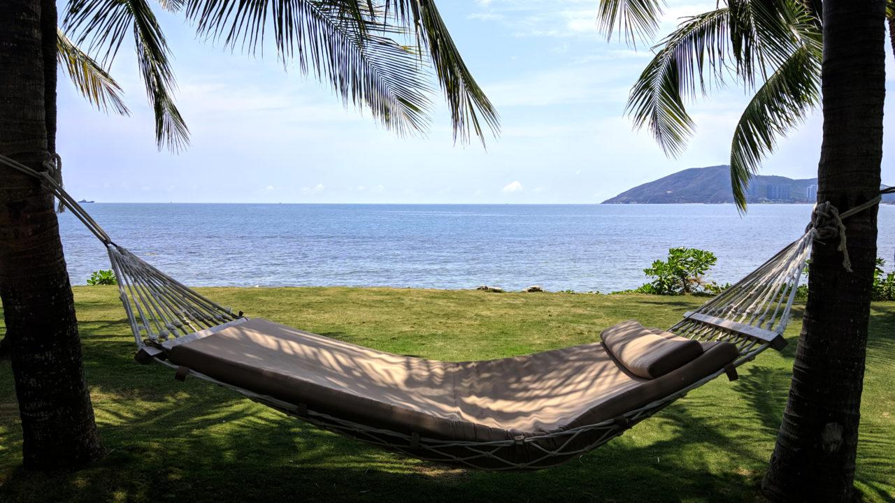 Sanya Mandarin Oriental hammock