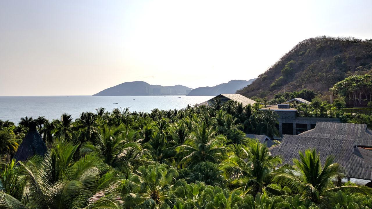 Mandarin Oriental Sanya view