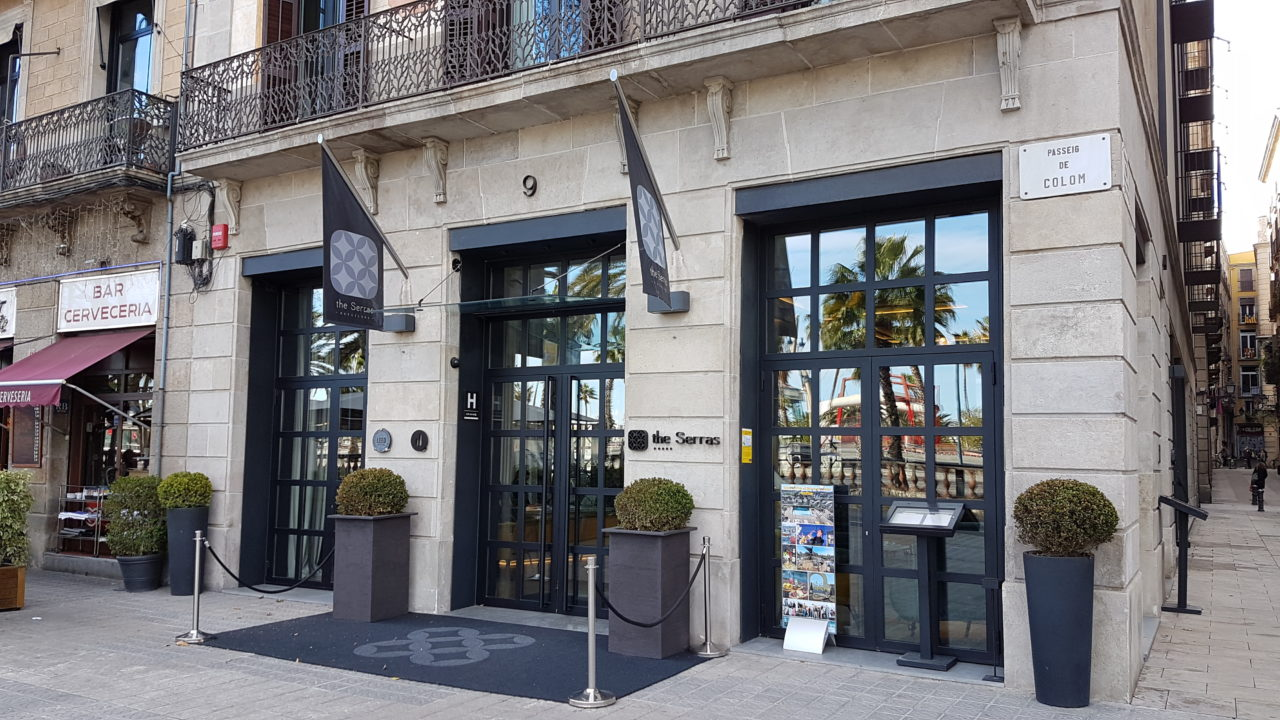 The Serras Hotel Barcelona Entrance