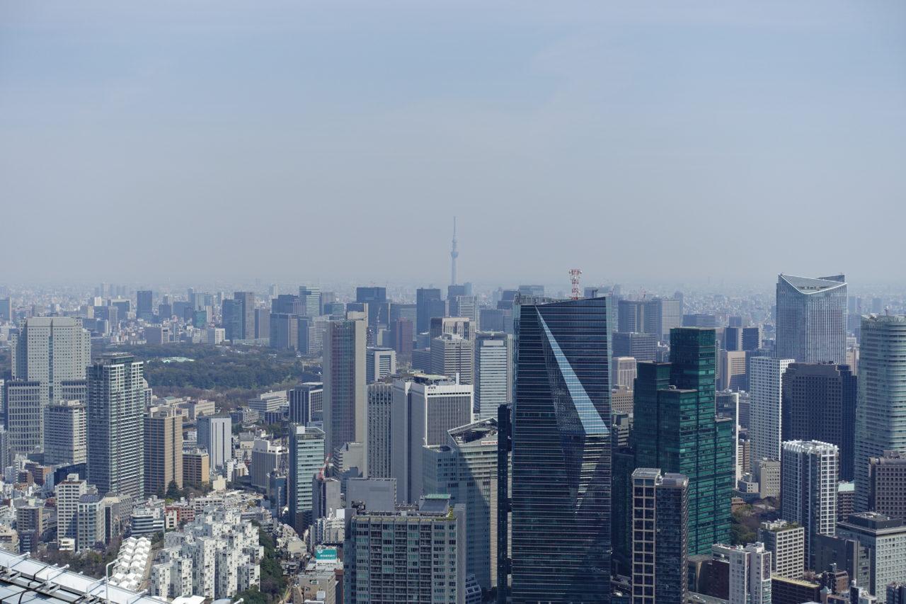Tokyo Sky Deck View