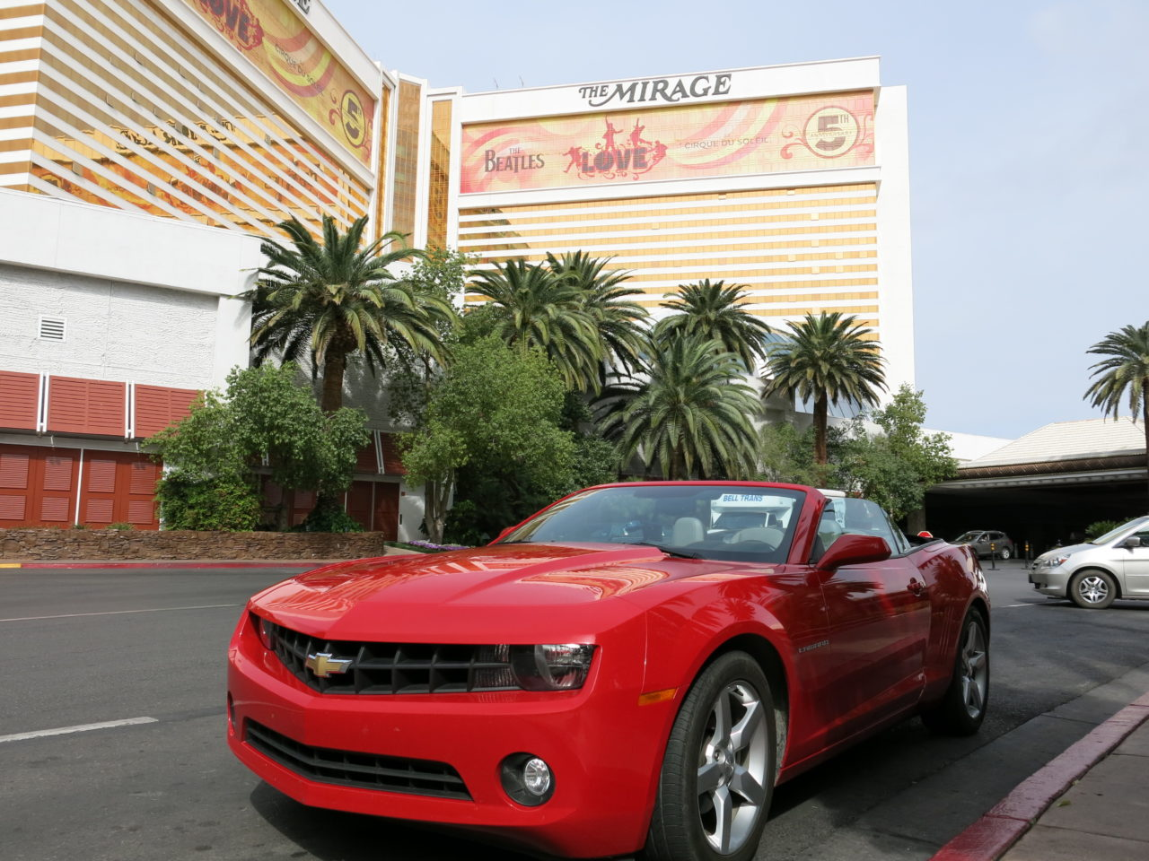 Convertible Car Las Vegas Strip