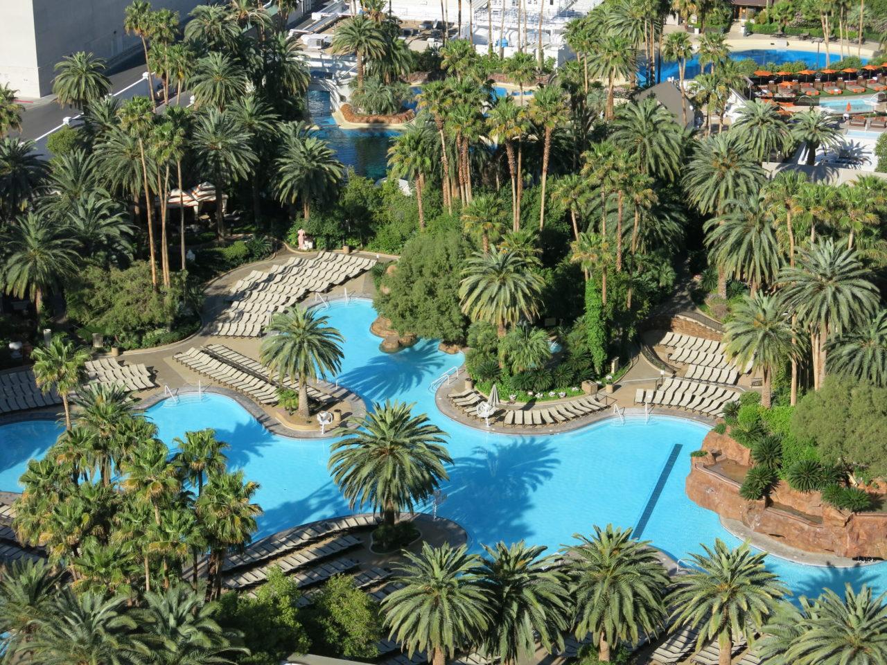 Pool Mirage Hotel Las Vegas