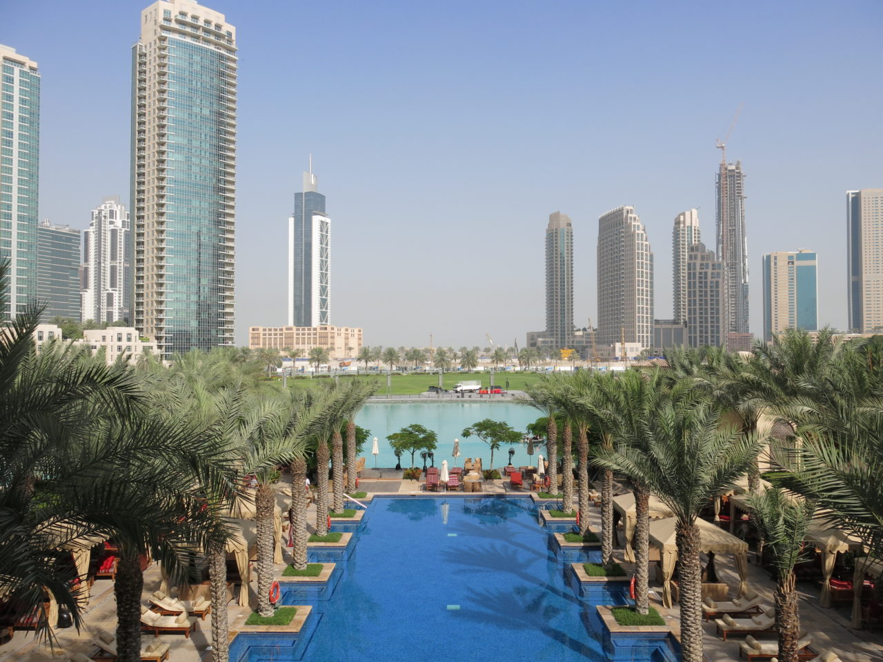 The Palace Downtown Dubai Pool