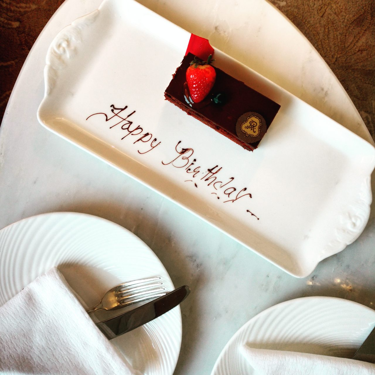 St Regis Abu Dhabi Birthday Cake