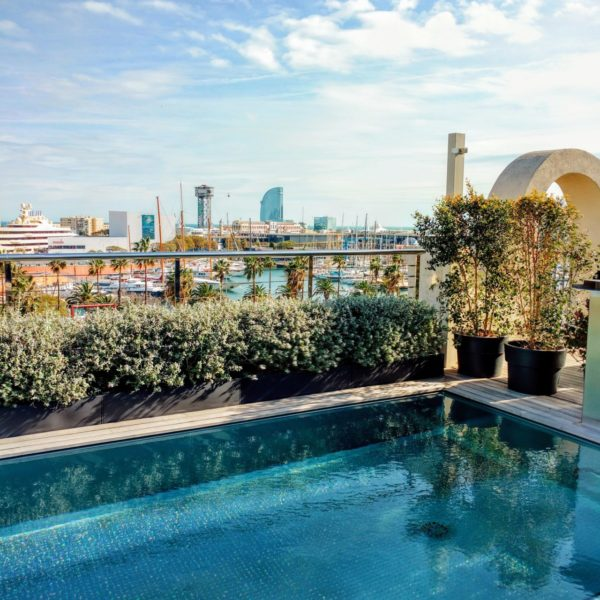 The Serras Hotel Barcelona Rooftop Pool
