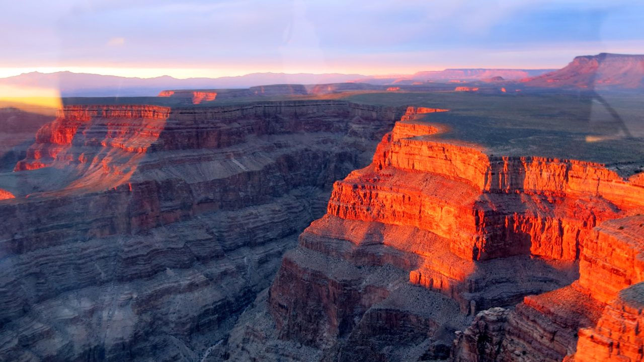 Gand Canyon Sunset Helicopter Tour