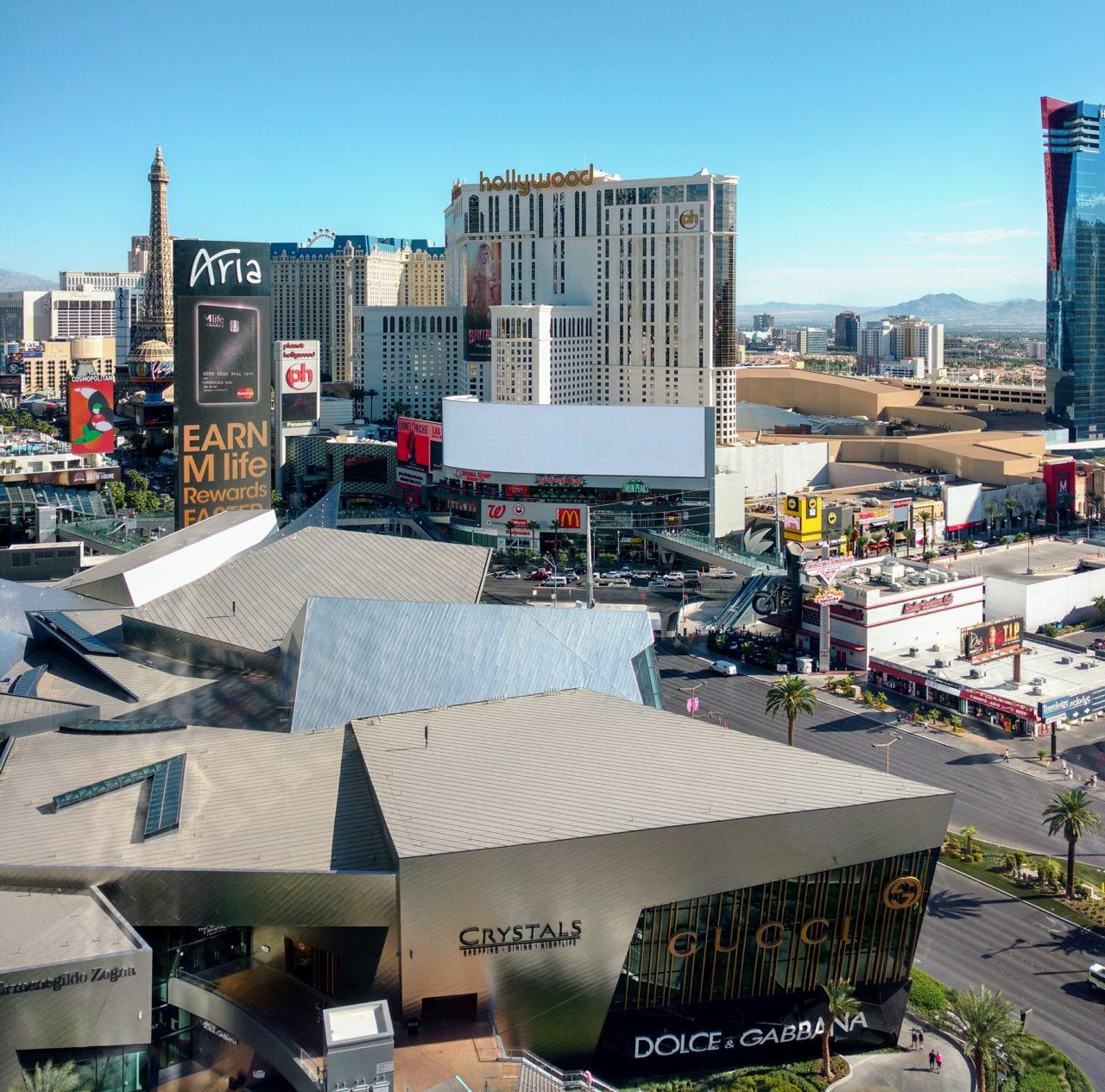 Las Vegas Crystal Mall Shops