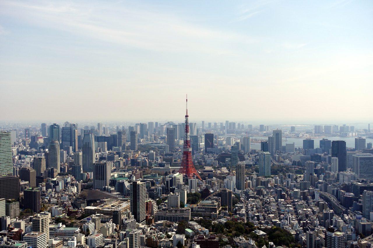 Tokyo Sky Deck City View