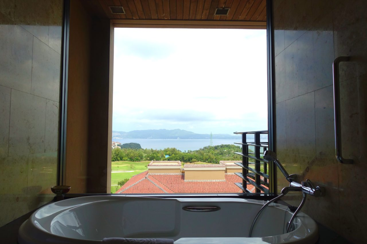 Ritz Carlton Okinawa Bathroom