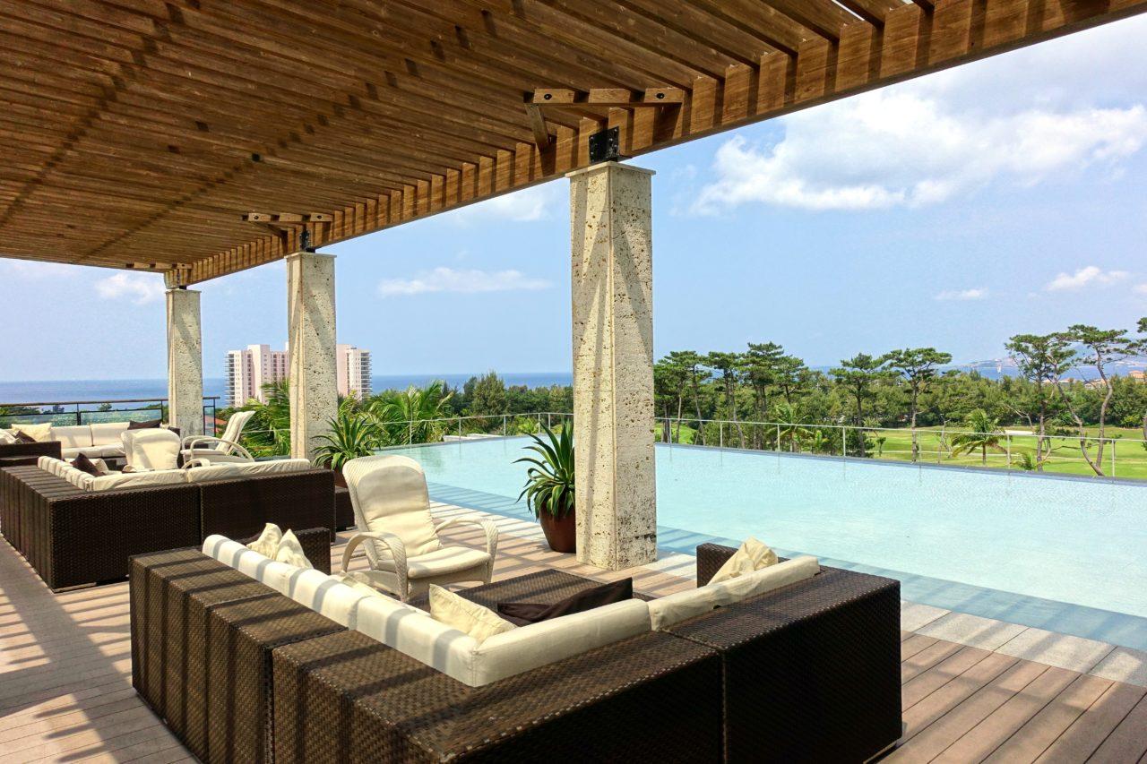 Ritz Carlton Okinawa Lobby Lounge Terrace