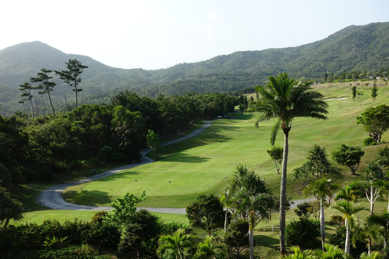Ritz Carlton Okinawa golf course and garden