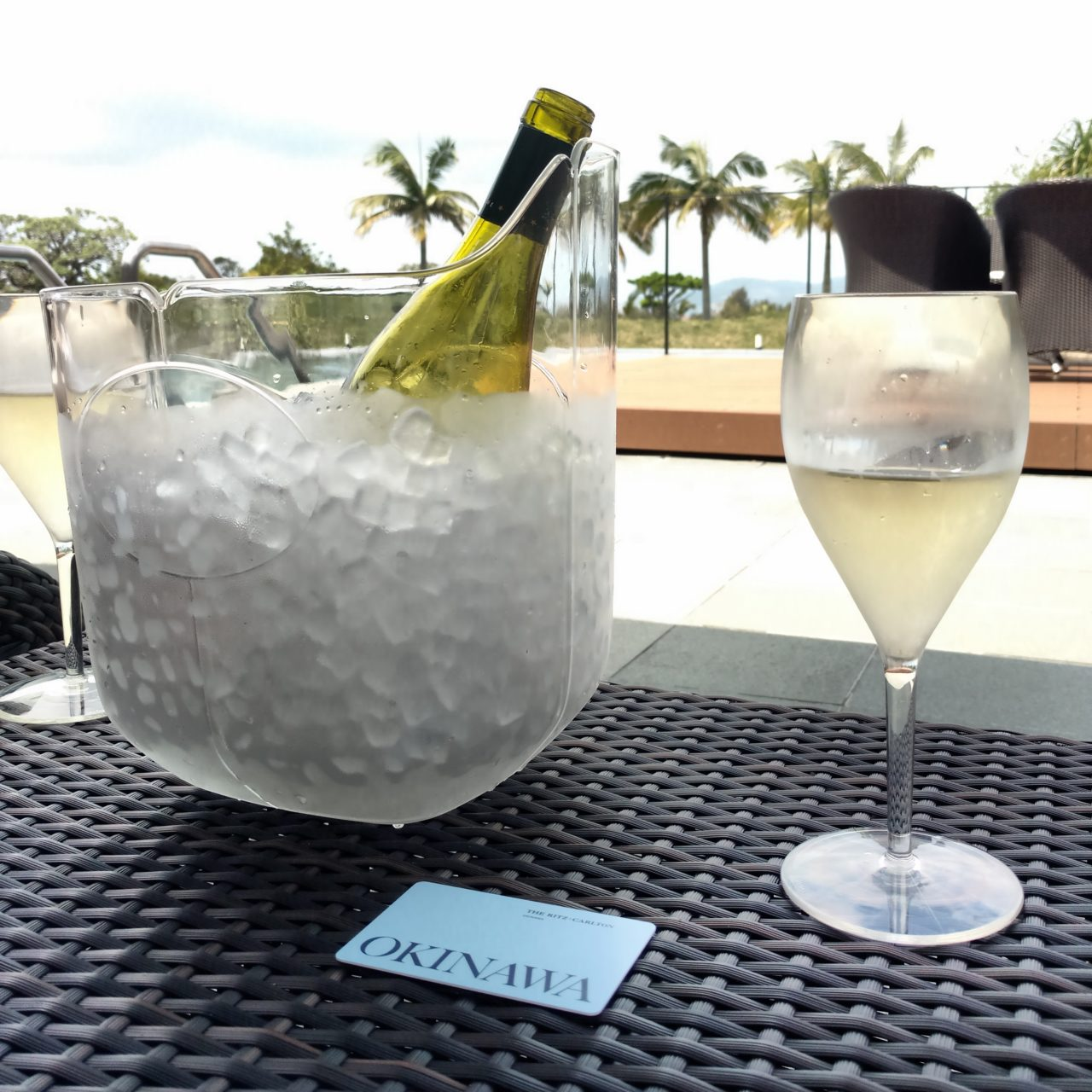 Ritz Carlton Okinawa pool drinks