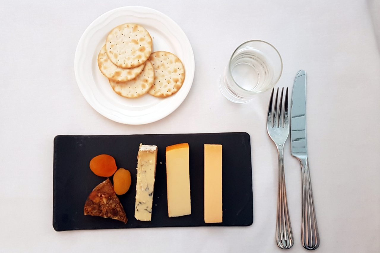business class cheese board