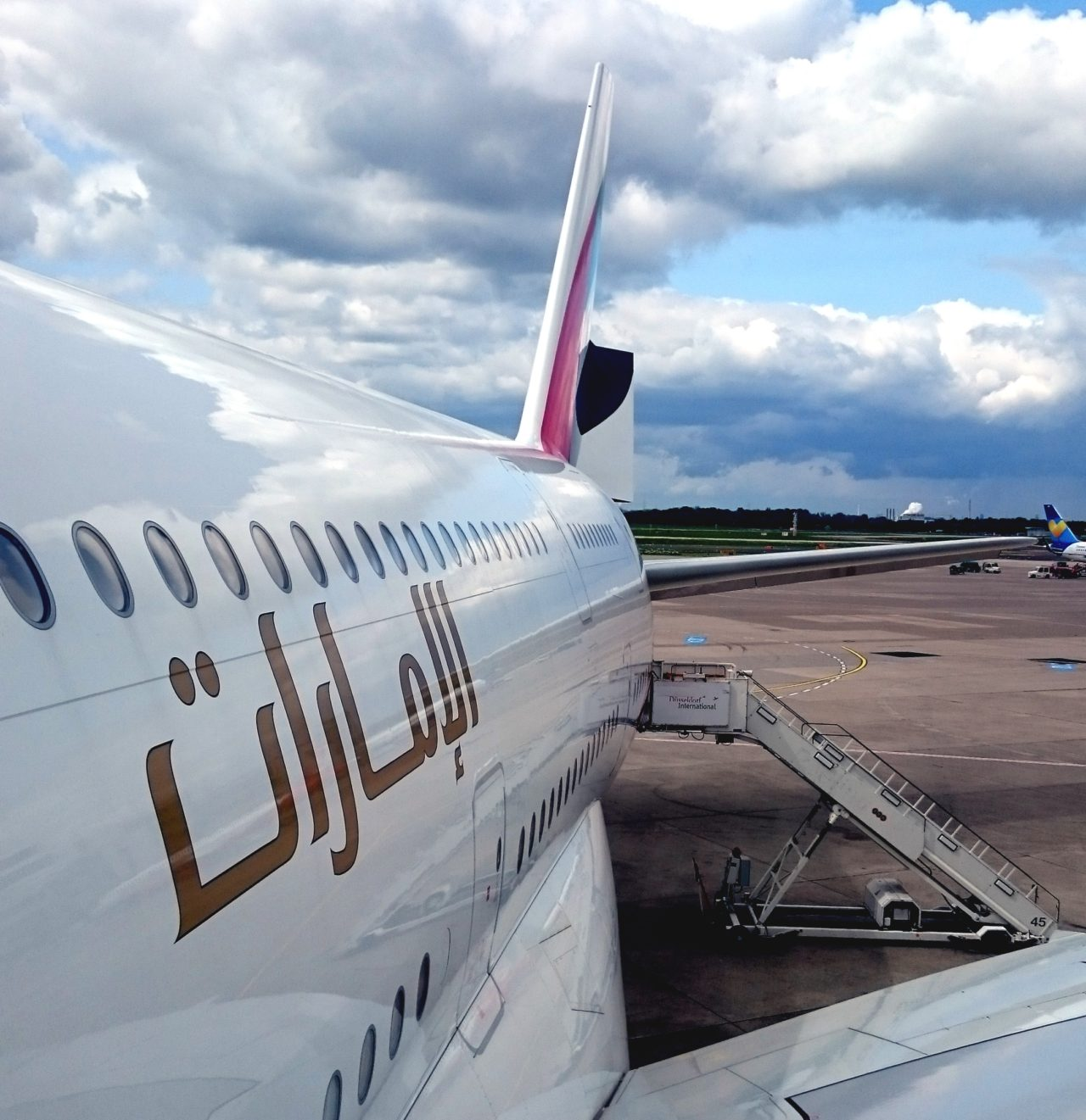 A380 jet Emirates