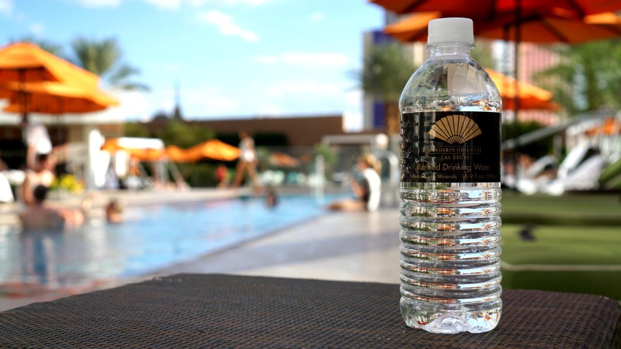 Mandarin Oriental Pool Water