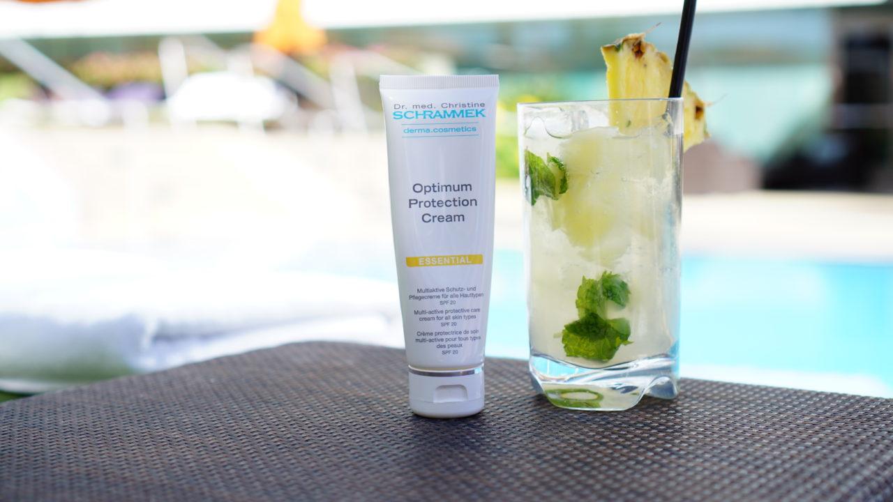 Mandarin Oriental Pool Drinks and Sunscreen