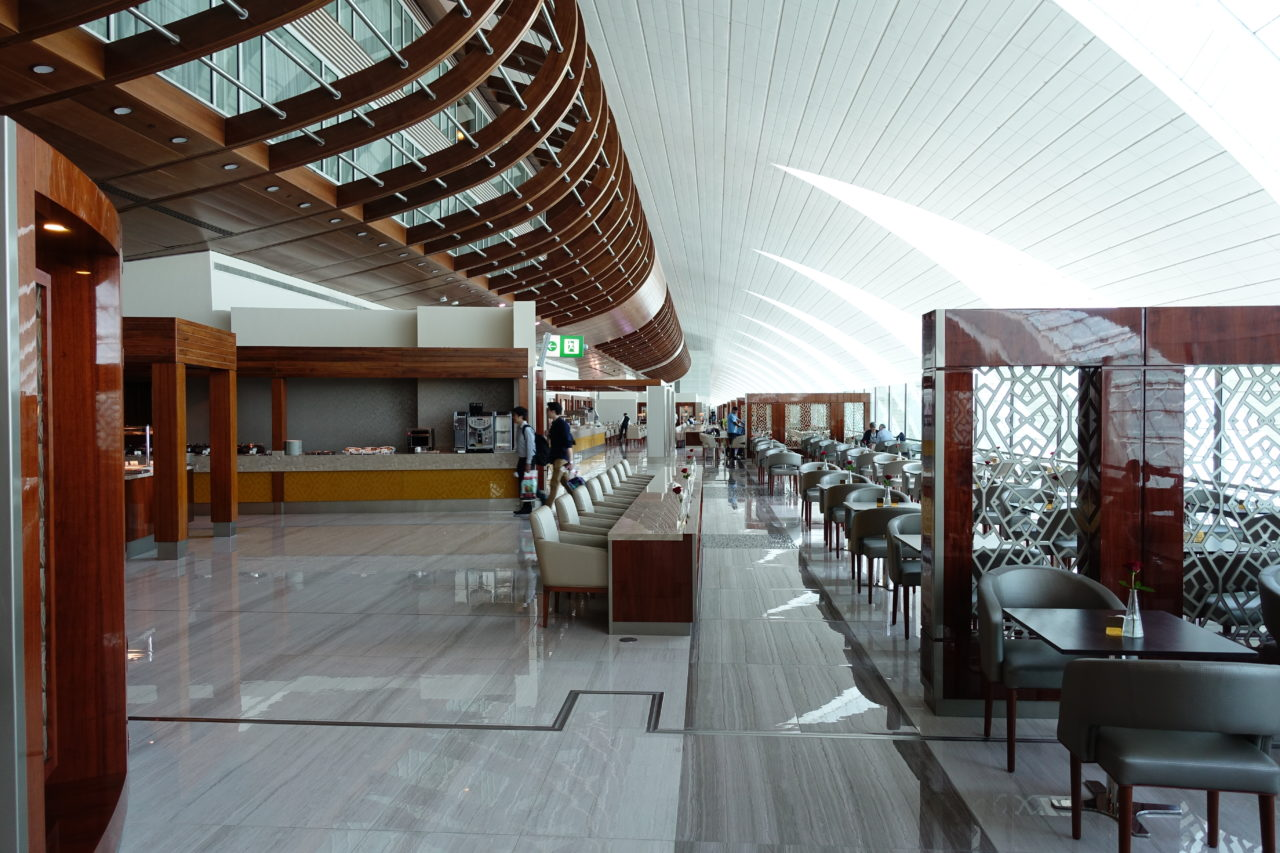 Emirates Lounge in Dubai
