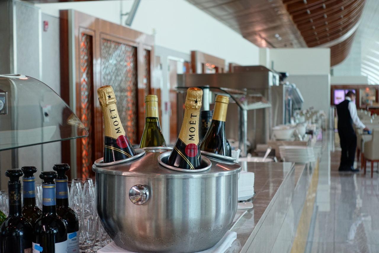 Moet champagne cooler
