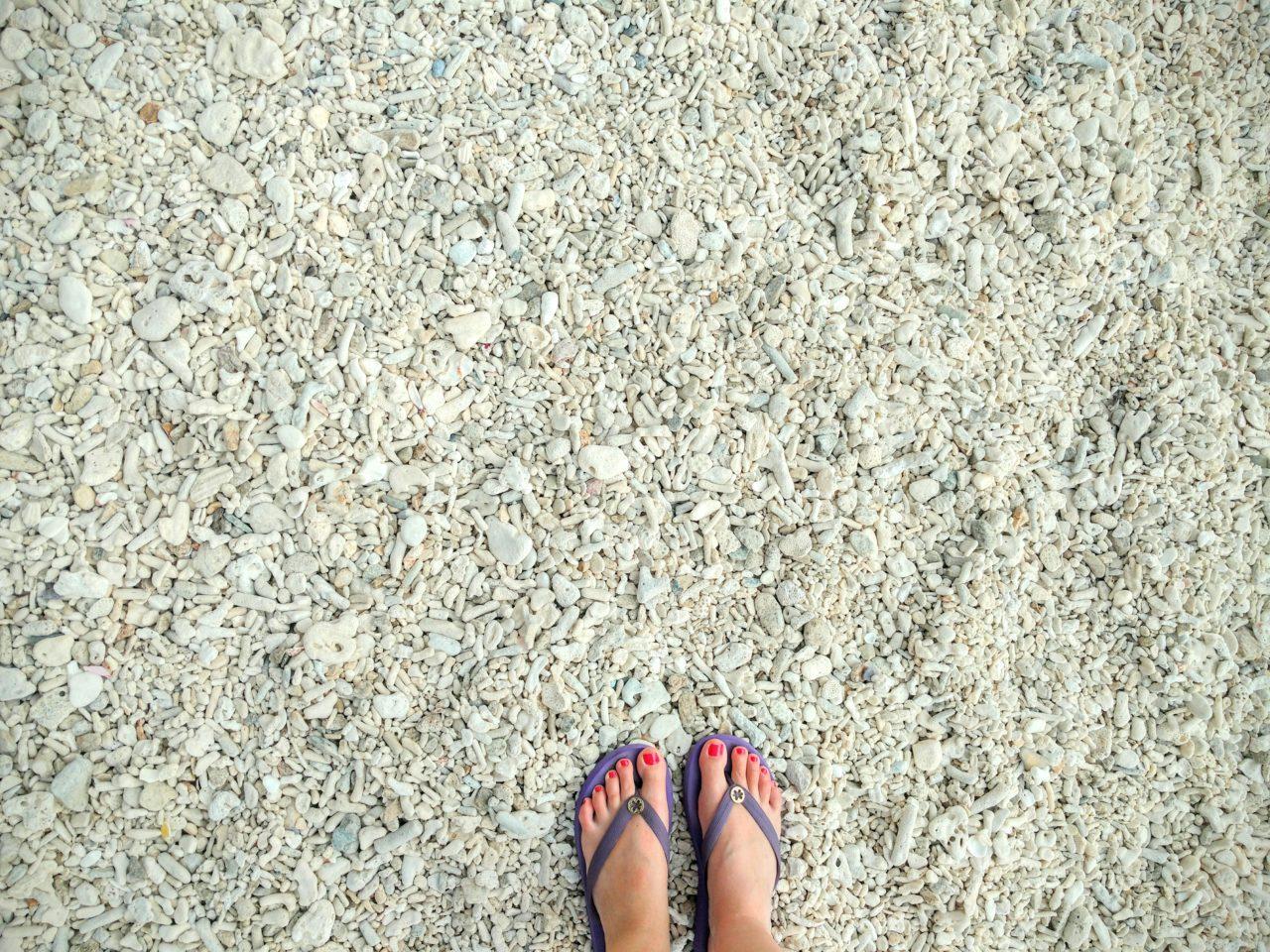 Mandarin Oriental Saya Coral Bay Feet