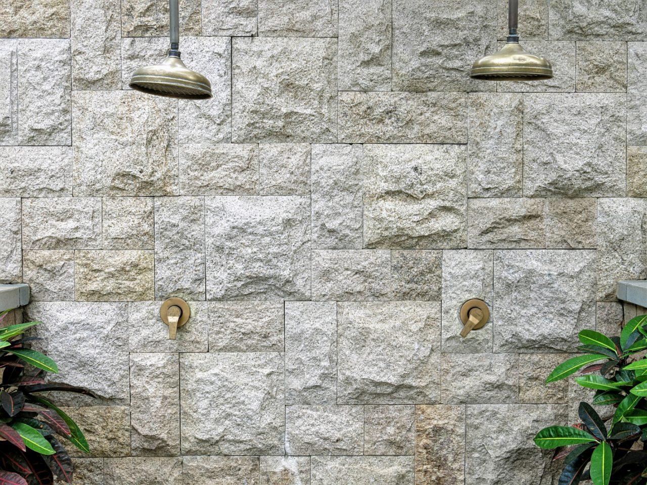 Mandarin Oriental Outdoor Showers