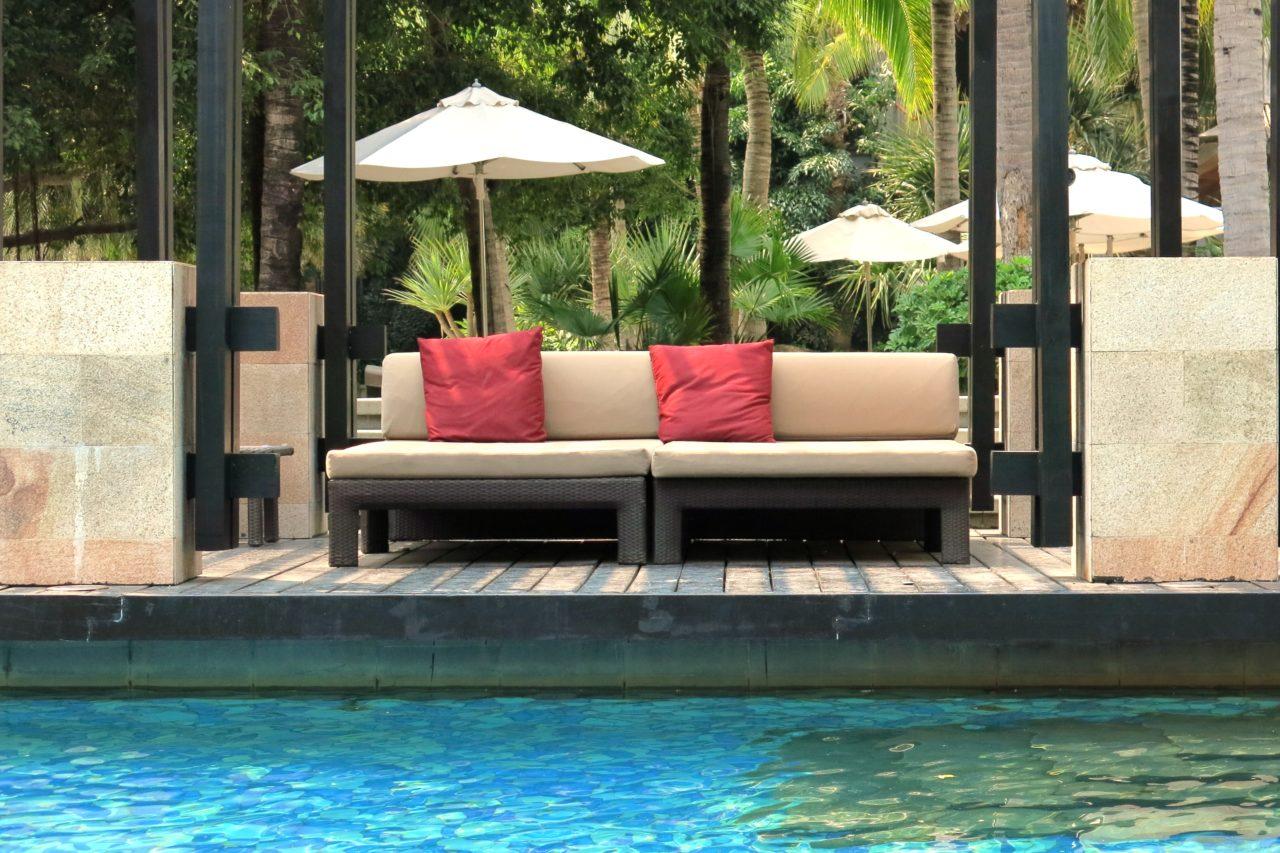 Mandarin Oriental Sanya Pool Area