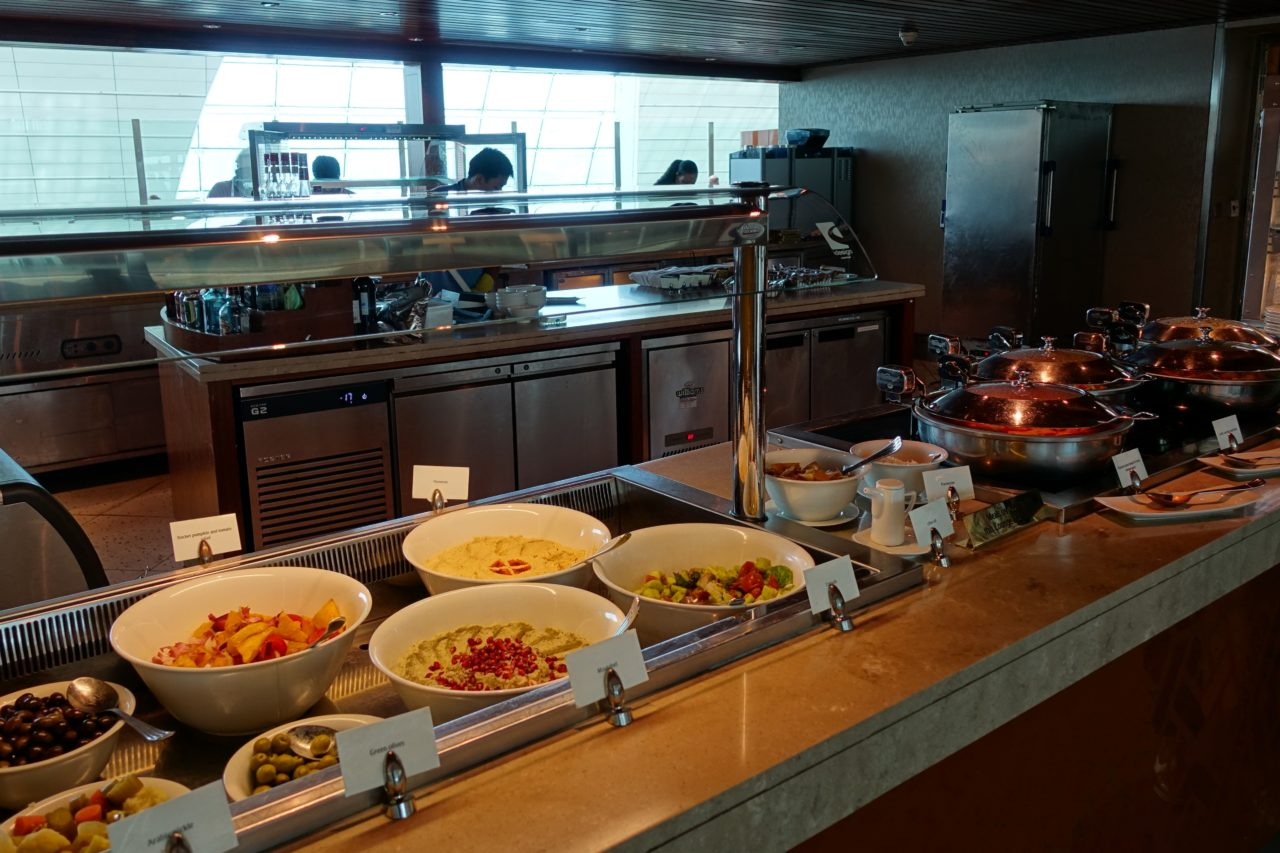 Dubai Business Lounge Buffet