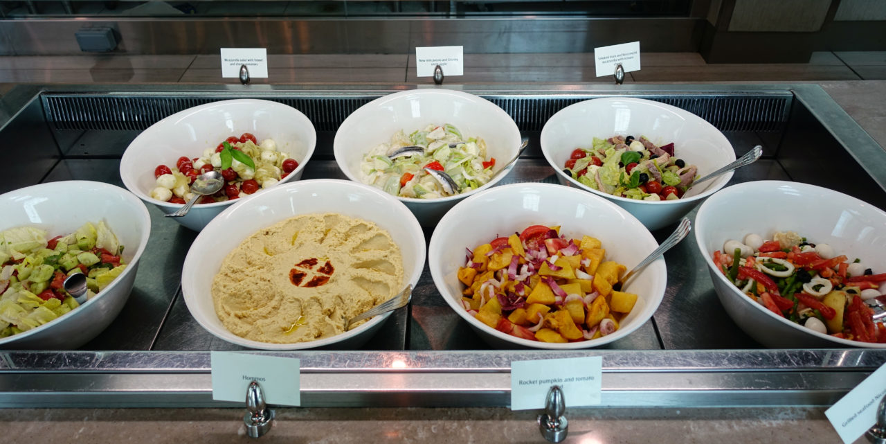 Dubai lounge buffet