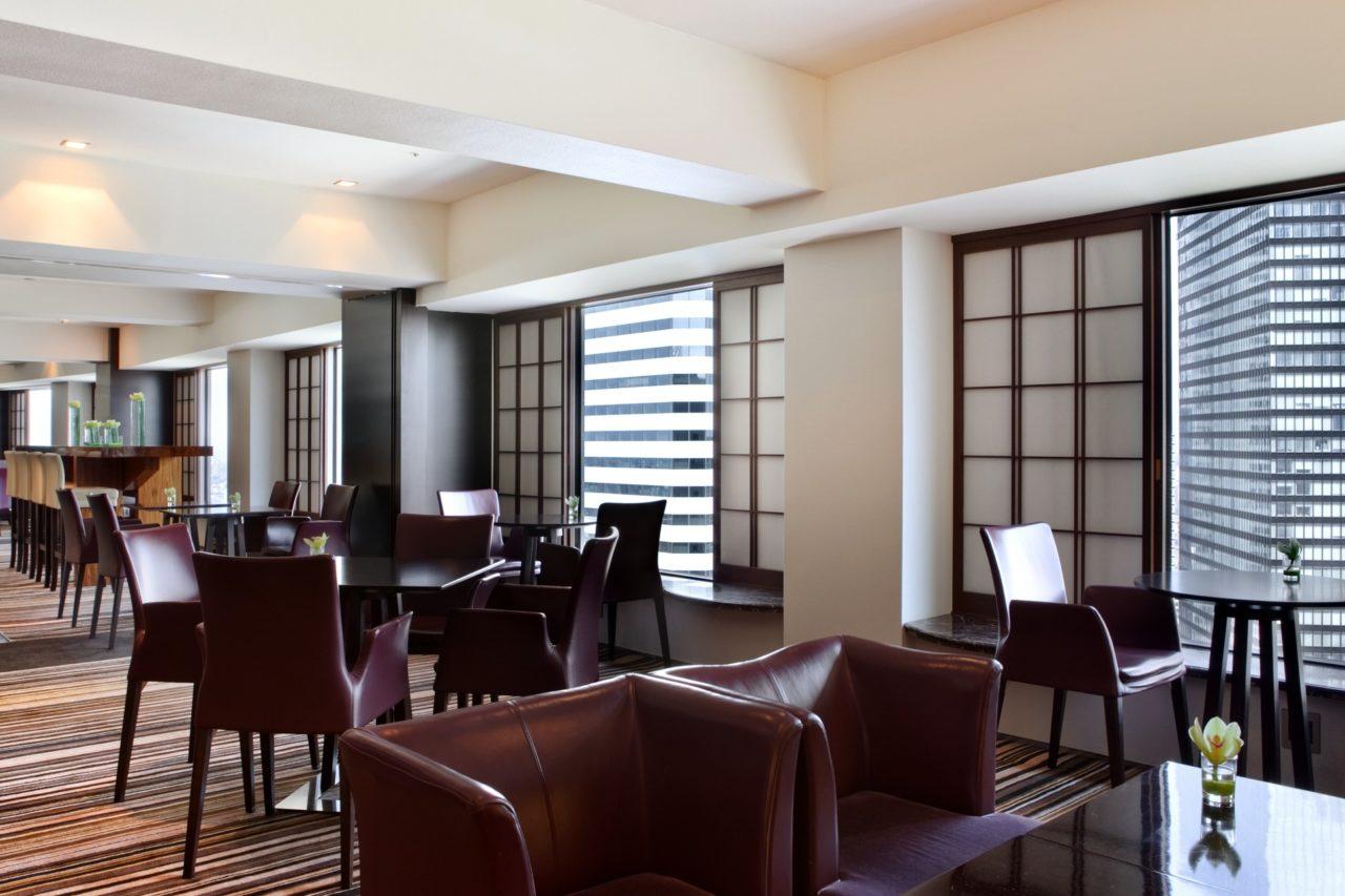 Executive Lounge Hilton Tokyo Shinjuku
