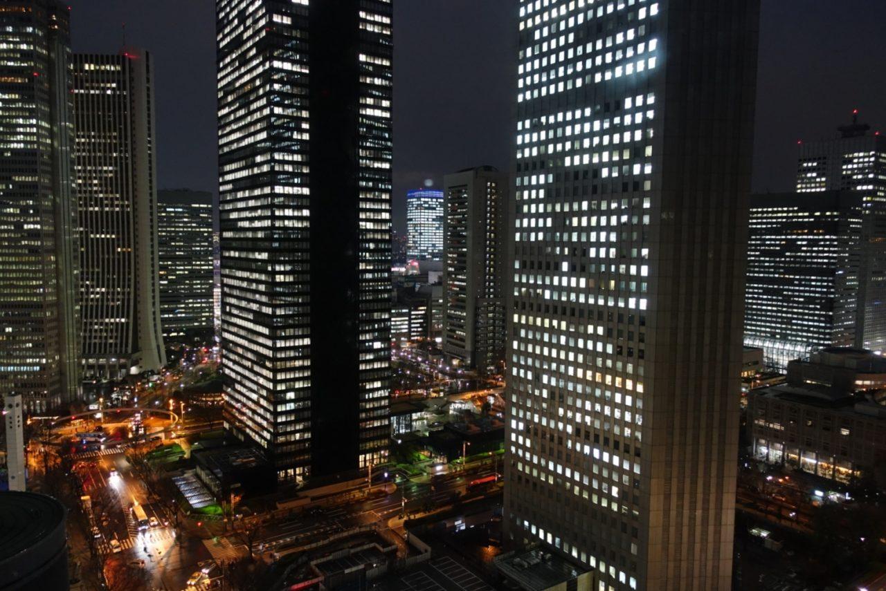 Tokyo Shinjuku view night