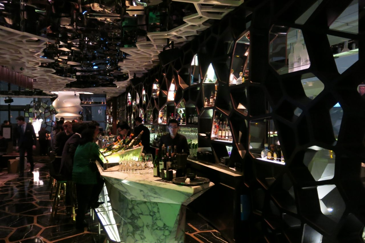 Ozone bar Hong Kong