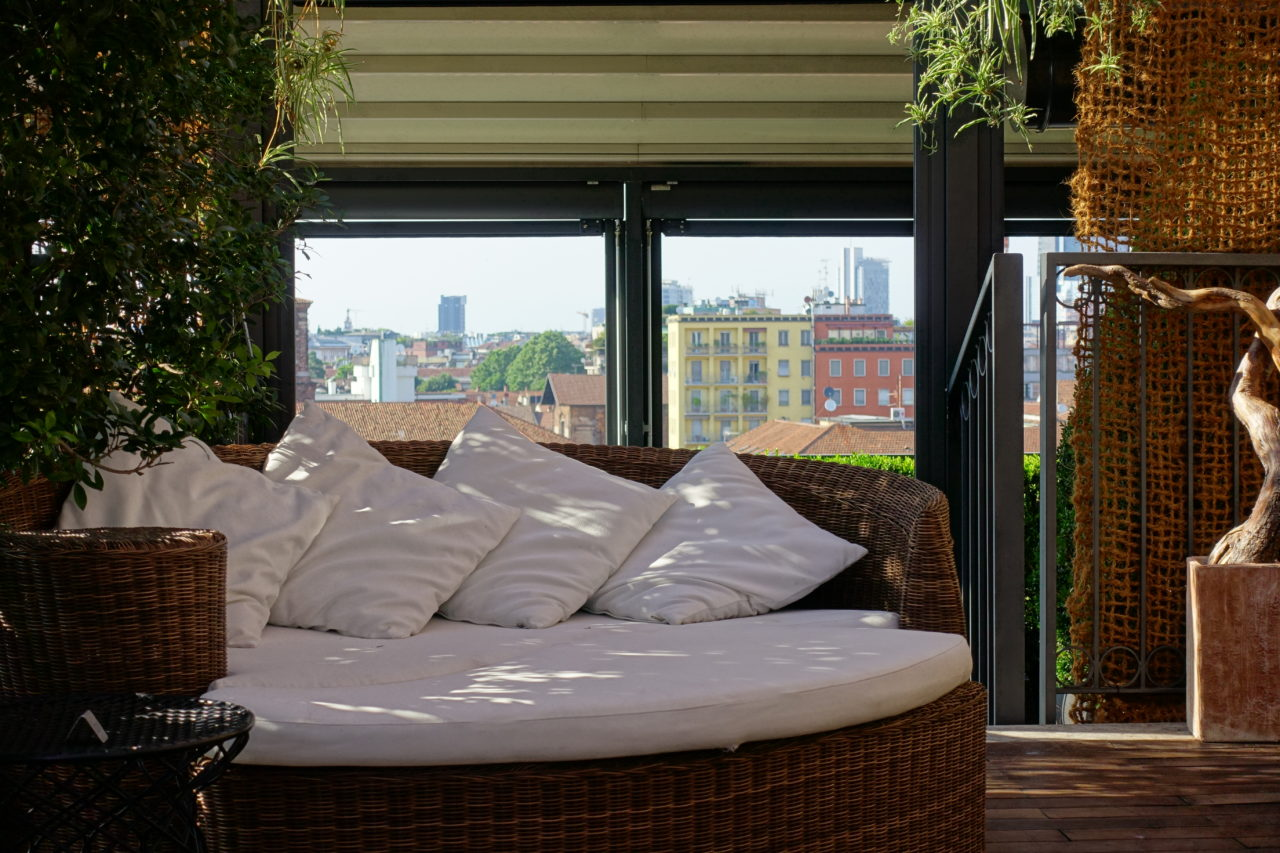Hotel Milano Scala Rooftop Terrace