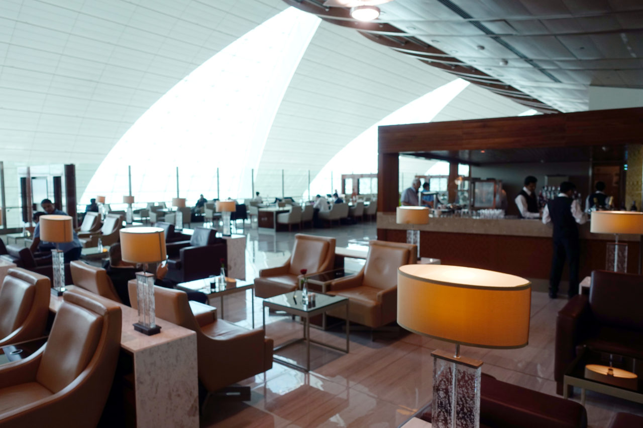 Dubai airport lounge