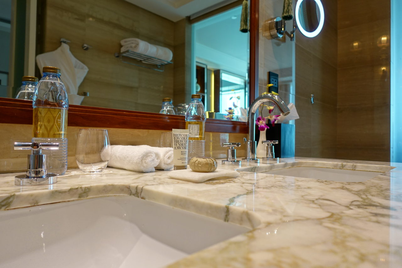Taj Dubai luxury bathroom