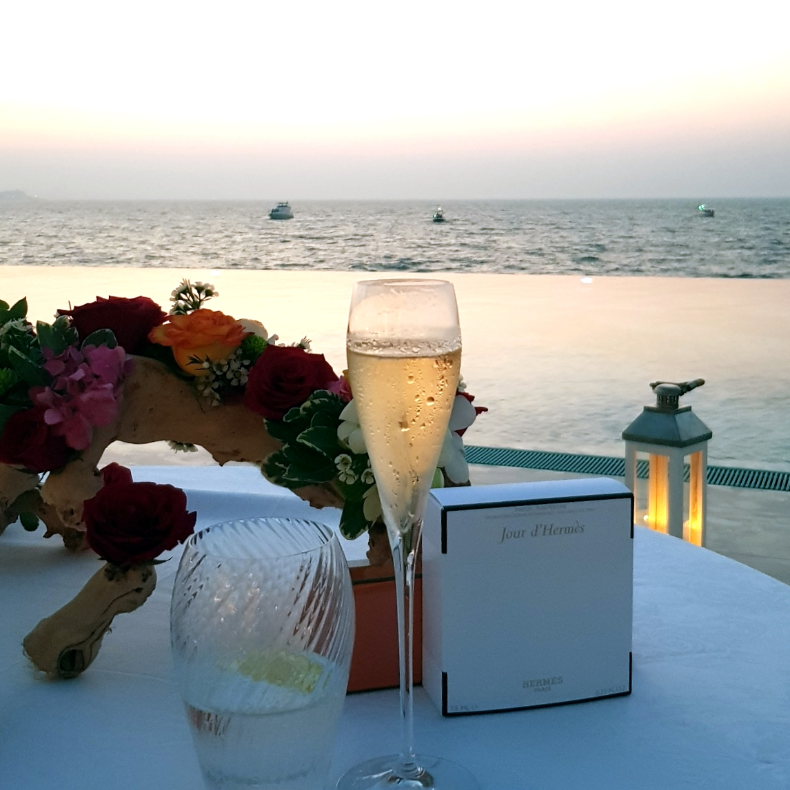Romantic Dubai dinner