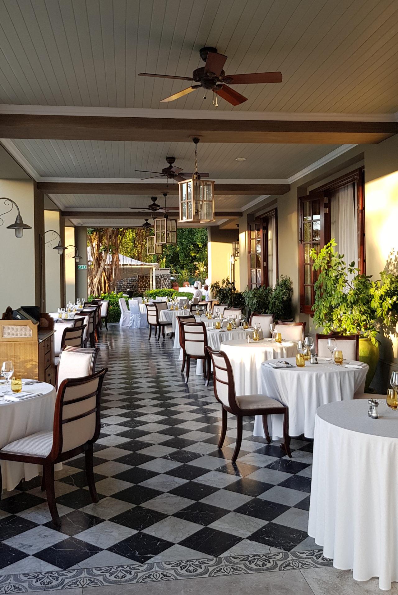 St. Regis Mauritius Le Manoir Dining