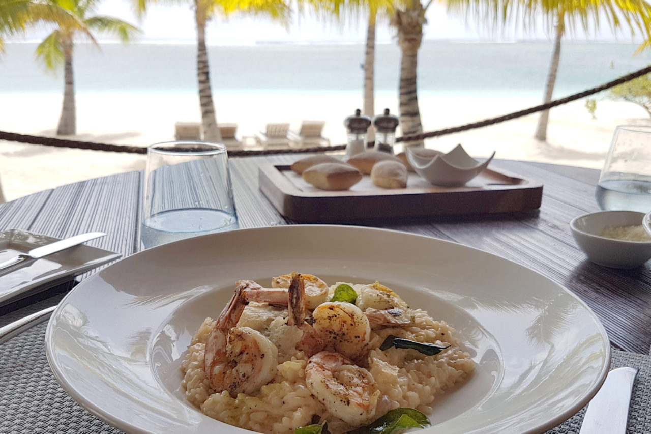 Lunch Boathouse St. Regis Mauritius