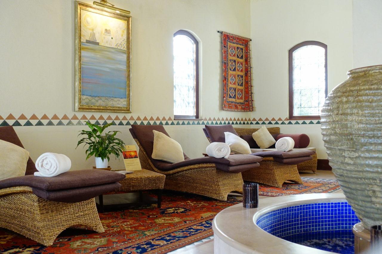 Al Maha Spa lounge