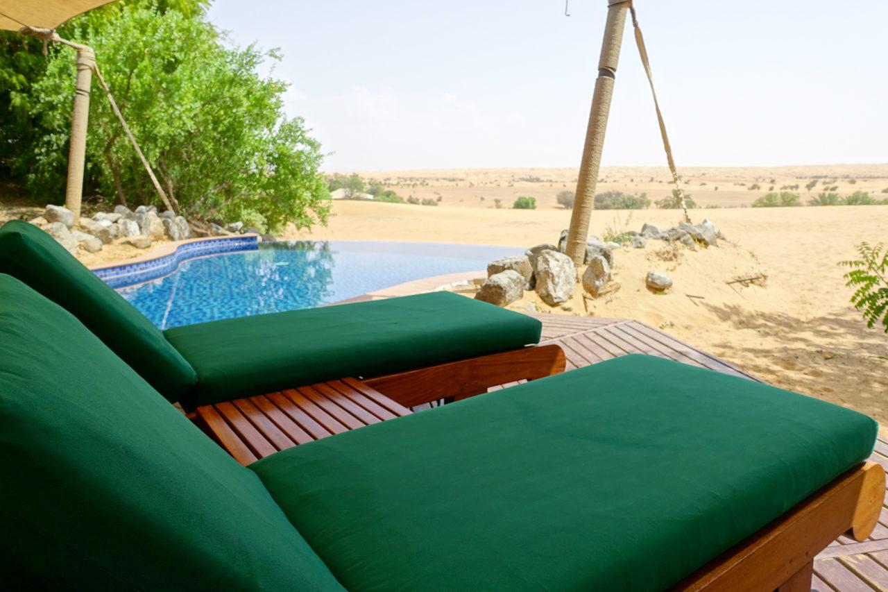 Al Maha suite pool