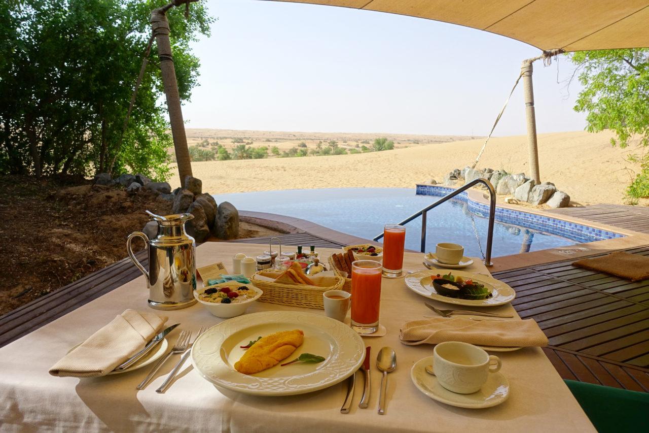 Al Maha private breakfast