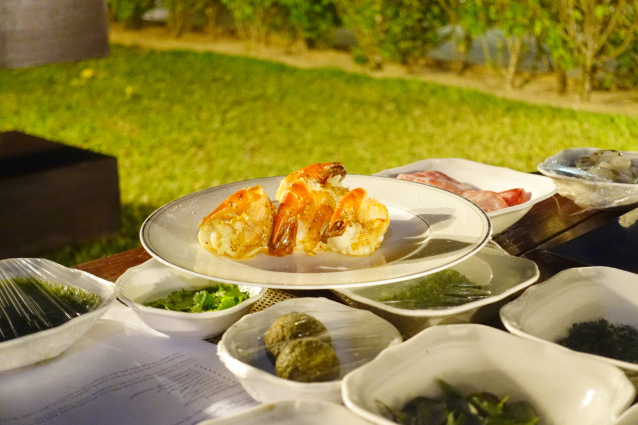 St. Regis Mauritius Live Cooking Mise en Place