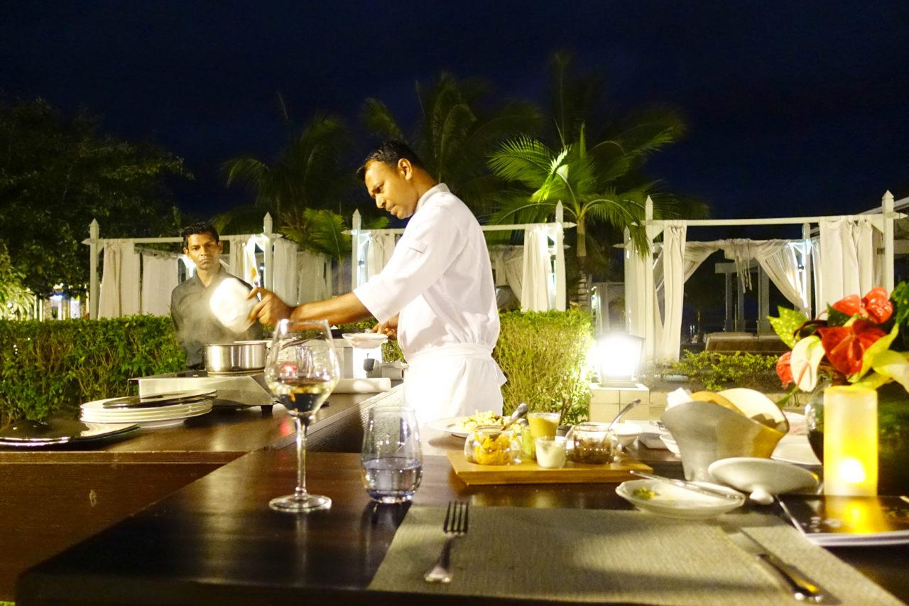 St. Regis Mauritius Live Cooking Chef