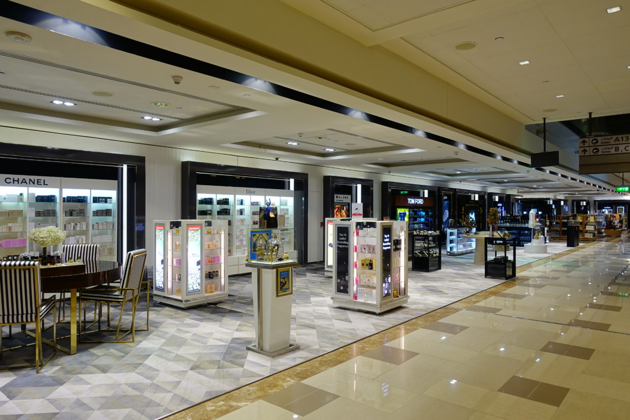 Dubai First Class Duty Free Shopping