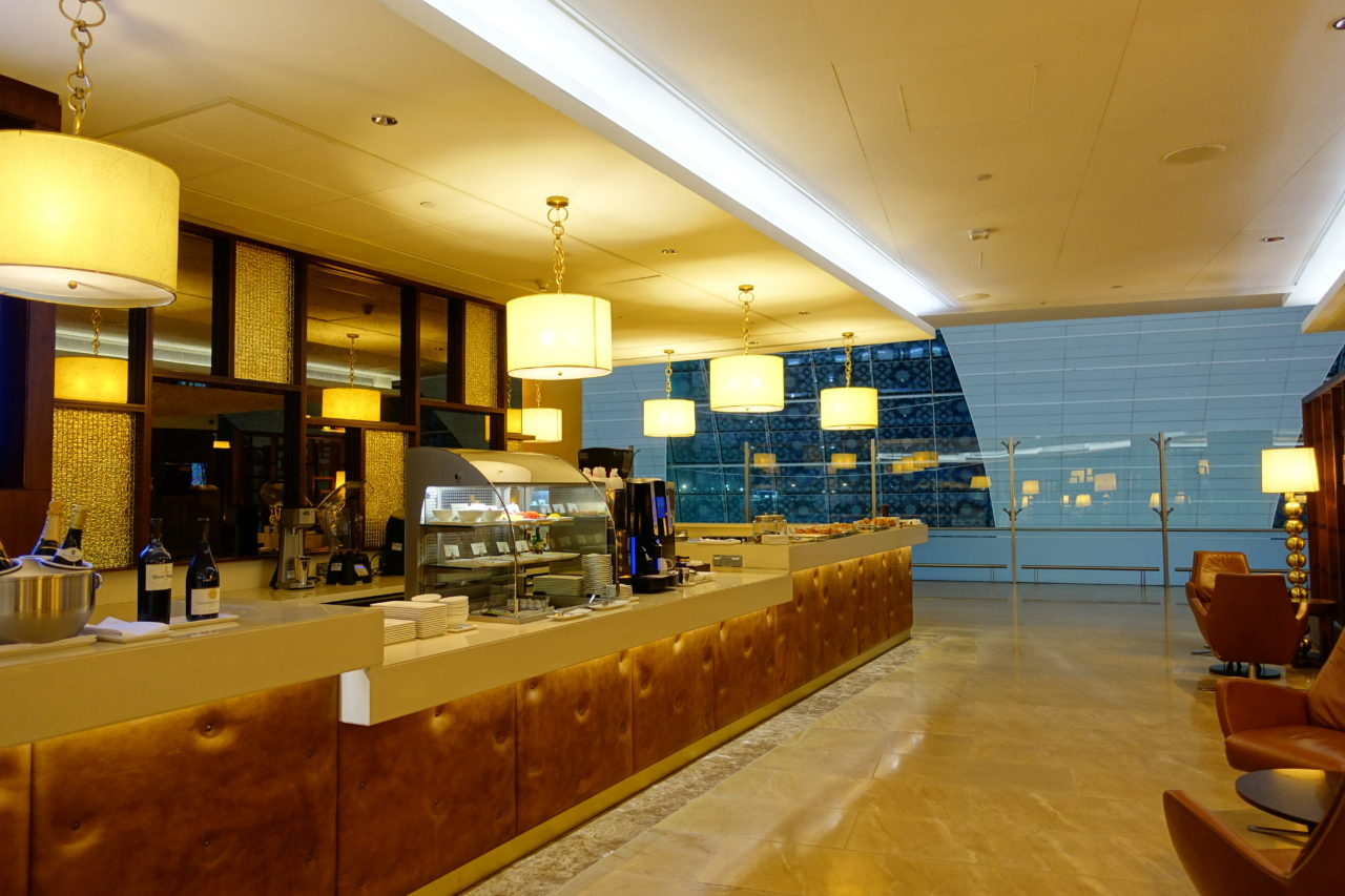Dubai lounge buffet