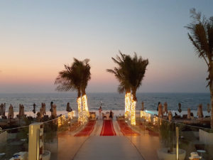 Burj Al Arab romantic dinner