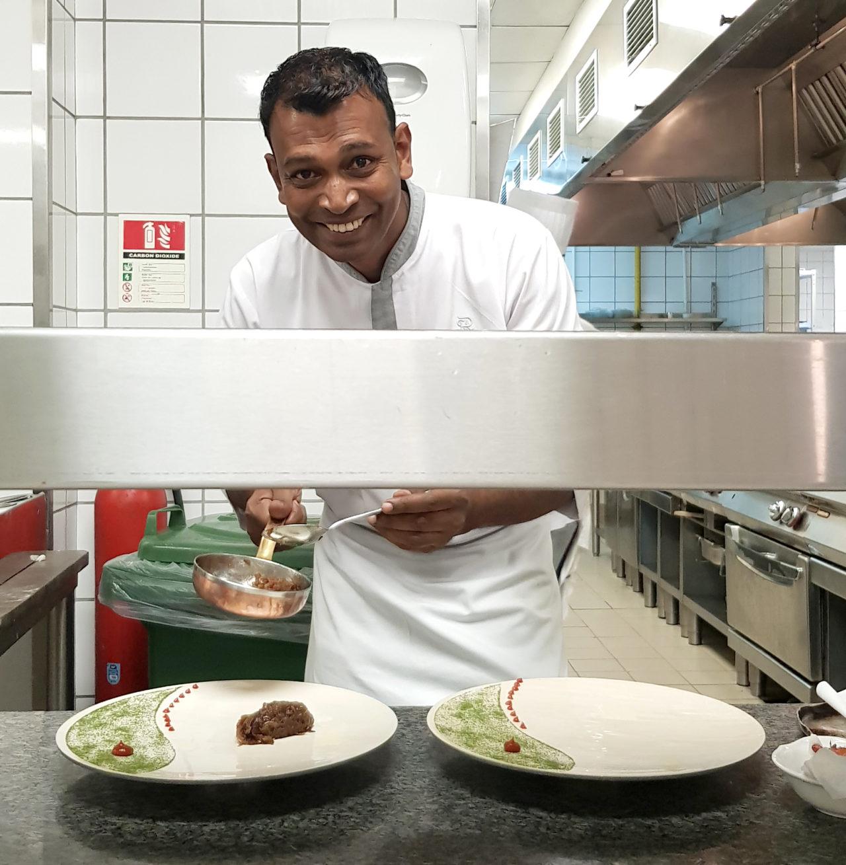Chef Ravi St. Regis Mauritius