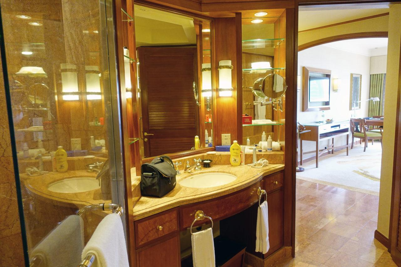 Sheraton Kuala Lumpur bathroom