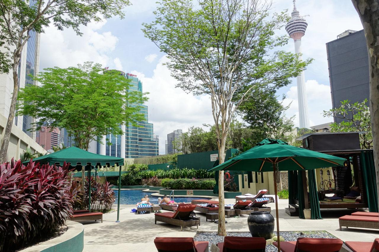 Sheraton KUL pool deck