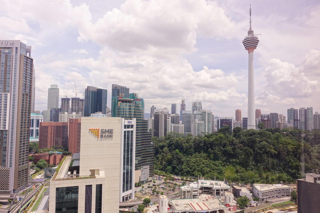 Sheraton Imperial Kuala Lumpur room view