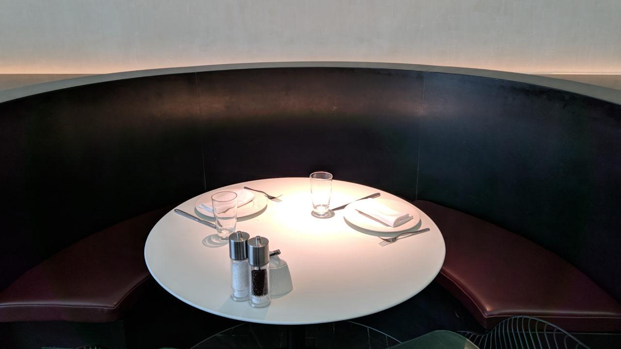 Sit down dining Amex Centurion